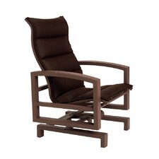 <strong>Tropitone</strong> Lakeside Padded Sling Action Lounge Chair