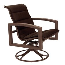 <strong>Tropitone</strong> Lakeside Padded Sling Swivel Rocking Chair