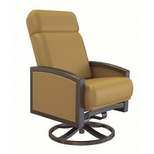 Lakeside Petite Swivel Action Lounge Chair with Cushion