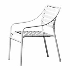 Kahana Stacking Club Dining Arm Chair