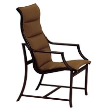 Windsor Padded Sling Dining Arm Chair
