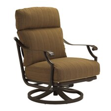 Montreux Lounge Chair and Ottoman with Cushion