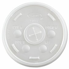 Transluscent Plastic Cold Cup Lid (Set of 1000)