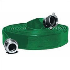 Contractors PVC Water Discharge Hose in Green