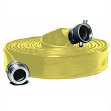Extra Heavy Duty PVC Water Discharge Hose in Yellow