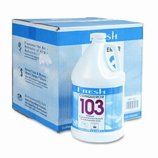 Conqueror 103 Odor Counteractant Concentrate, 1 Gal Bottle, 4/Carton