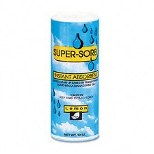 Supersorb Liquid Spills Absorbent, 12-Oz. Shaker Can