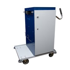 Short Powder Coated Microfiber High Capacity Cart