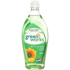 22 Oz Natural Dishwashing Liquid Soap Bottle