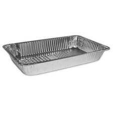 "3.13"" Deep Full-Size Steam Table Aluminum Pan"