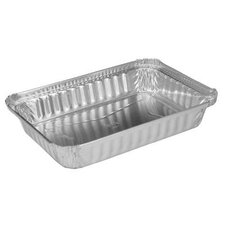 24 oz Aluminum Oblong Shallow Pan