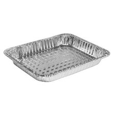 "Half-Size Steam Table Aluminum 1.5"" Shallow Pan"