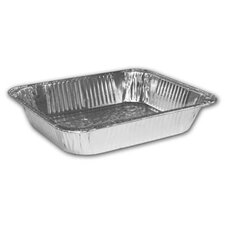 "2.5"" Deep Half-Size Steam Table Aluminum Pan-Set (Set of 100)"