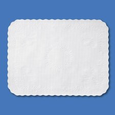 Anniversary Paper Place Setting/Tray Cover in White