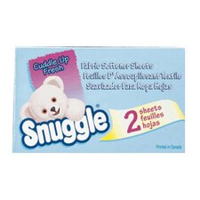 <strong>SNUGGLE®</strong> Fabric Softener Sheets Coin Vend Pack, Fresh Scent, 2 Sheets/Box