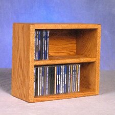 200 Series 52 CD Multimedia Tabletop Storage Rack