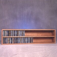 <strong>Wood Shed</strong> 200 Series 236 CD Multimedia Tabletop Storage Rack