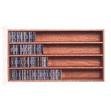 <strong>Wood Shed</strong> 400 Series 472 CD Wall Mounted Multimedia Storage Rack