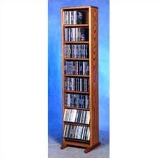 800 Series 208 CD Dowel Multimedia Storage Rack