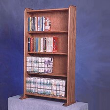 <strong>Wood Shed</strong> 400 Series 160 DVD Multimedia Storage Rack