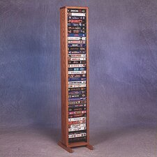 100 Series 40 VHS Multimedia Storage Rack