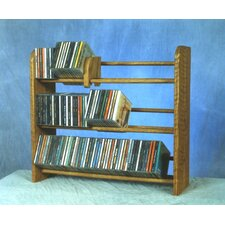 <strong>Wood Shed</strong> 300 Series 165 CD Multimedia Tabletop Storage Rack