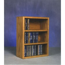 300 Series 78 CD Multimedia Tabletop Storage Rack