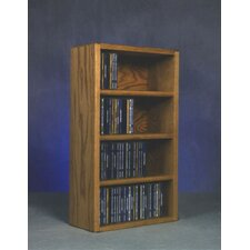 <strong>Wood Shed</strong> 400 Series 104 CD Wall Mounted Multimedia Storage Rack