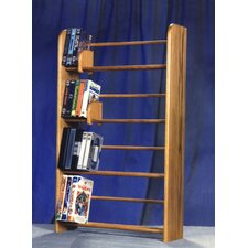 <strong>Wood Shed</strong> 400 Series 160 DVD Dowel Multimedia Storage Rack
