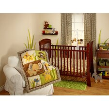 Jungle Dreams Crib Bedding Collection