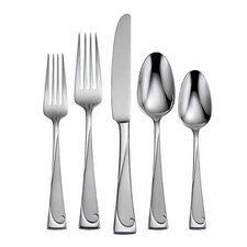 20 Piece Script Flatware Set