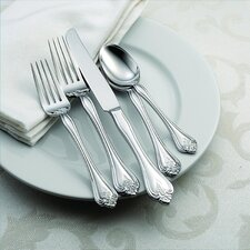<strong>Oneida</strong> Boutonniere 45 Piece Everyday Flatware Set