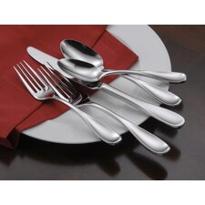 <strong>Oneida</strong> Voss 45 Piece Premium Tier Flatware Set