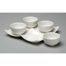 <strong>Oneida</strong> Chef's Table 5 Piece Appetizer Dip Set