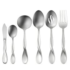 <strong>Oneida</strong> Satin Aquarius 6 Piece Serving Set