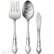 <strong>Oneida</strong> Stainless Steel Dover 3 Piece Serving Set