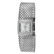 Women's Swarovski Elements Bracelet Watch in Silver Tone