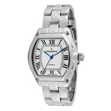 Women's Roman Numeral Bracelet Watch in Silver Tone
