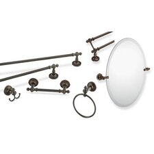 Gilcrest 4-Piece Bathroom Accessory Set
