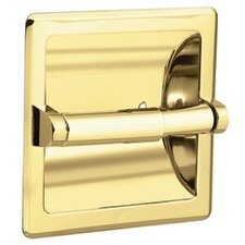 Contemporary Recessed Toilet Paper Holder