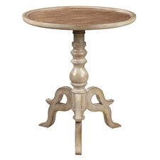 """Brittney"" Swan Base End Table"