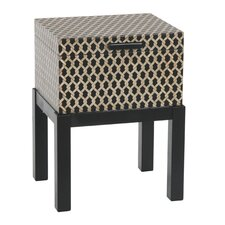 <strong>Gail's Accents</strong> Malago Woven Trunk End Table