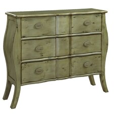 Cottage Narrow 3 Drawer Bombay Chest
