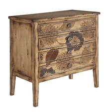 ETC Chrysanthemum 4 Drawer Chest