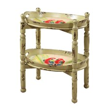 ETC Parrot Trays End Table