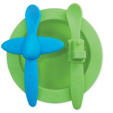 Baby Mealtime Set in Green