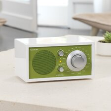 Model One Radio - Frost White / Kelly Green