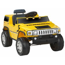 Hummer in Yellow