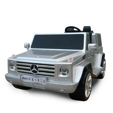 Mercedes Benz G55 AMG Two Seater Ride-On in Silver