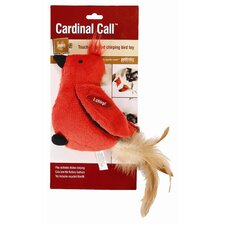 Cardinal Call Cat Toy